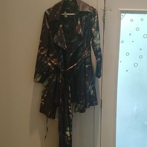 Angel trench coat /raincoat
